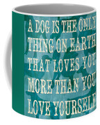 A Dog Coffee Mug by Debbie DeWitt