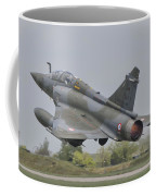 A French Air Force Mirage 2000d Taking Coffee Mug