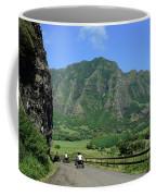 A Group Of Atv Quad Riders Take Coffee Mug