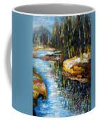 A Morning At River Bank Park Ny Coffee Mug
