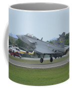 A Saab Jas 39 Gripen C Of The Royal Coffee Mug