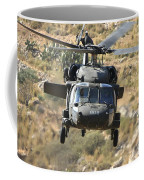 A Uh-60l Yanshuf Helicopter Coffee Mug