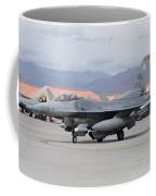 A U.s. Air Force F-16c Fighting Falcon Coffee Mug
