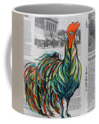 A Well Read Rooster Coffee Mug