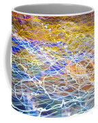 Abstract Background - Citylights At Night Coffee Mug