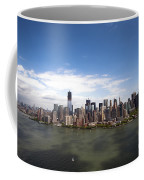 2-aerial View Of Manhattan Coffee Mug