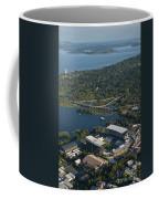 Aerial View Of The New Husky Stadium Coffee Mug