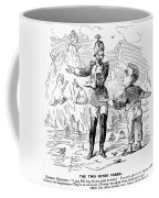 Alaska Purchase Cartoon Coffee Mug