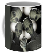 Alien Abduction Coffee Mug