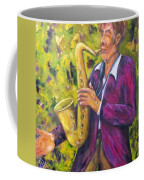 All That Jazz, Saxophone Coffee Mug
