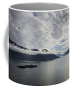 Alpine Lake With Islands Coffee Mug