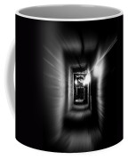 Altered Image Of A Tunnel Leading Out Of The Catacombs In Paris France Coffee Mug