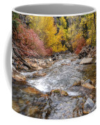 American Fork Canyon Creek In Autumn - Utah Coffee Mug