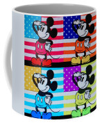American Mickey Coffee Mug