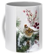 Christmas Sparrow Coffee Mug