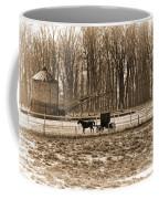 Amish Buggy And Corn Crib Coffee Mug