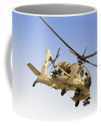 An Ah-64a Peten Attack Helicopter Coffee Mug