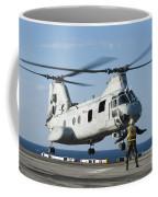 An Aviation Boatswains Mate Directs Coffee Mug