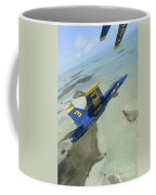 An Fa-18 Hornet Of The Blue Angels Coffee Mug