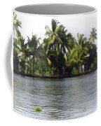 An Isolated Cottage Next To A Lake Coffee Mug