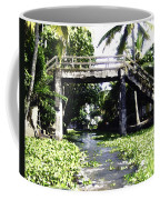 An Old Stone Bridge Over A Canal In Alleppey Coffee Mug