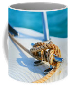 Anchor Line Coffee Mug by Laura Fasulo