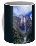 Angel Falls In Canaima National Park Venezuela Coffee Mug