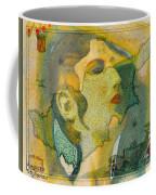 Aphrodite And Ancient Cyprus Map Coffee Mug