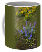 Arrowleaf Balsamroot And Lupine Coffee Mug
