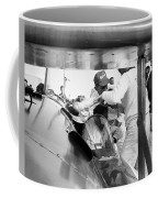 Art Arfons In Cockpit Of Green Hornet Coffee Mug