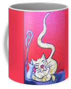 Art Cat Coffee Mug