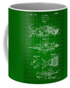 Artificial Bait Patent 1923 - Green Coffee Mug