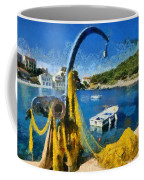 Asos Village In Kefallonia Island Coffee Mug