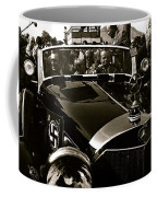 Auction Sale Last Ride Adolf Hitler's Model 770-k 1941 Mercedes-benz Touring Car Scottsdale Az 1973 Coffee Mug