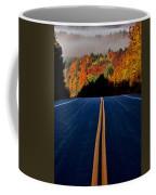Autumn Colors And Road  Coffee Mug