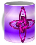 Balance And Harmony - Purple Coffee Mug
