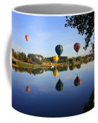 Balloons Heading East Coffee Mug by Carol Groenen