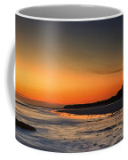 Bamburgh Castle At Sunrise Coffee Mug