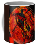Basketball Abstract Coffee Mug