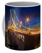 Bay Bridge Coffee Mug by Inge Johnsson
