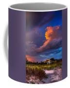 Beach Front Rain Coffee Mug by Marvin Spates