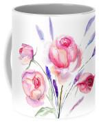 Beautiful Roses Flowers Coffee Mug