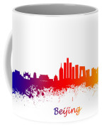 Beijing China Skyline  Coffee Mug