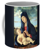 Bellini's Madonna And Child In A Landscape Coffee Mug
