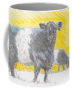 Belted Galloway Cows Coffee Mug