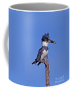 Belted Kingfisher With Fish Coffee Mug