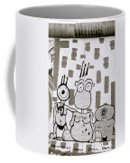 Berlin Wall Avatars Coffee Mug