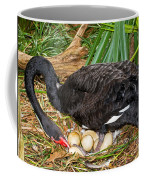 Black Swan At Nest Coffee Mug