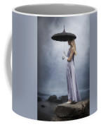 Black Umbrella Coffee Mug
