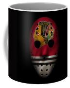Blackhawks Jersey Mask Coffee Mug